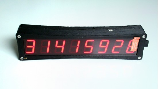 FDC 3D Printed Timecode Generator Display