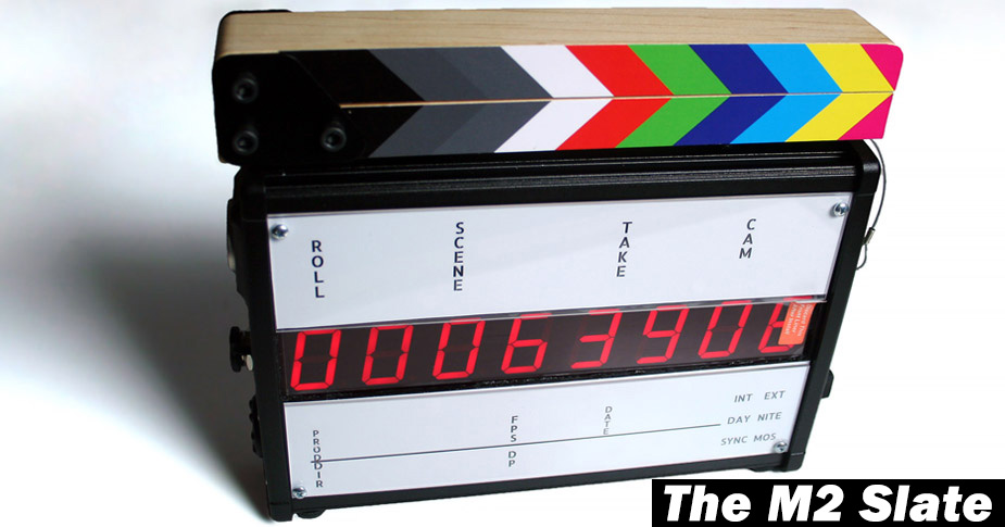 New Timecode Slate and Upgrade Path!