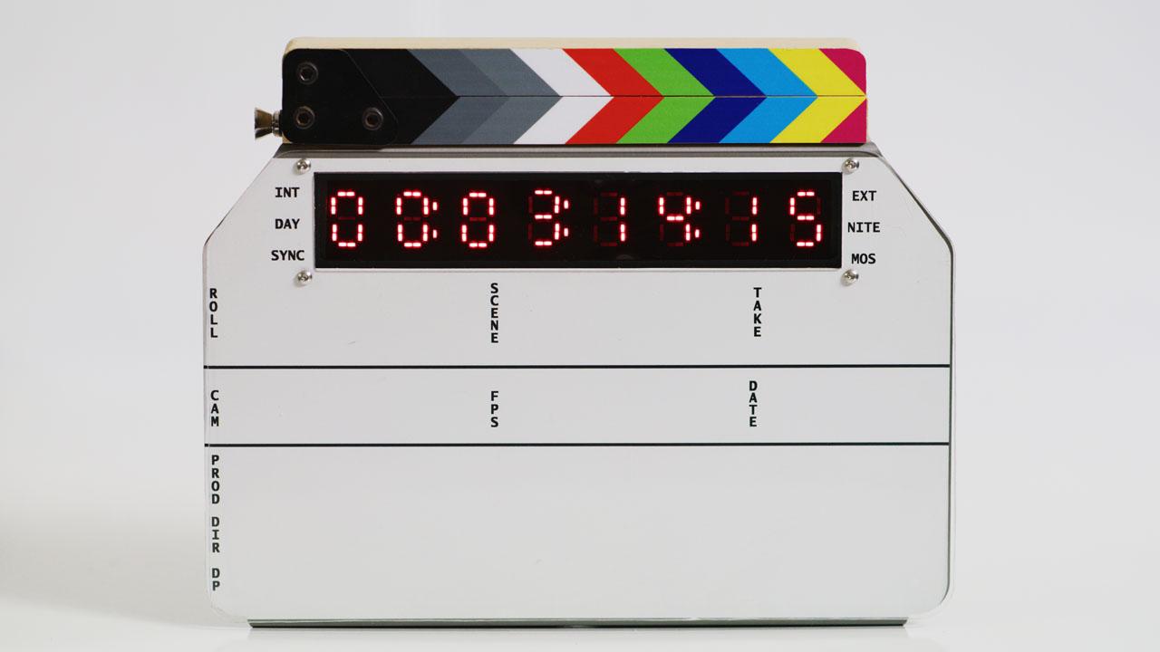 FDC A2 - A New Timecode Display & Slate